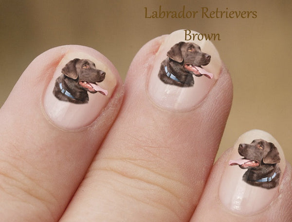 Labrador nail art - Dogs Make Me Happy - 4