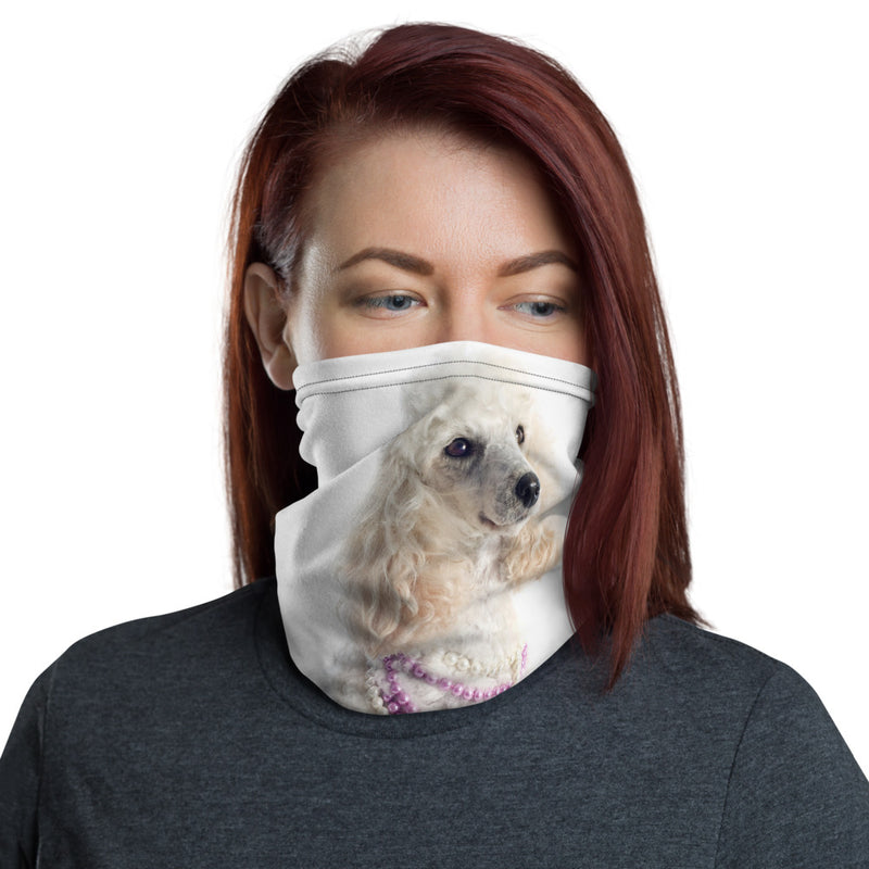 Poodle face mask