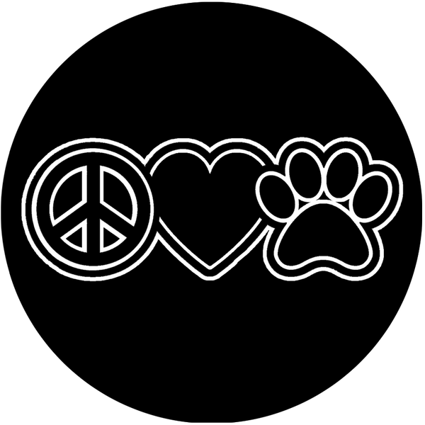 Peace Love Paws - Dogs Make Me Happy
