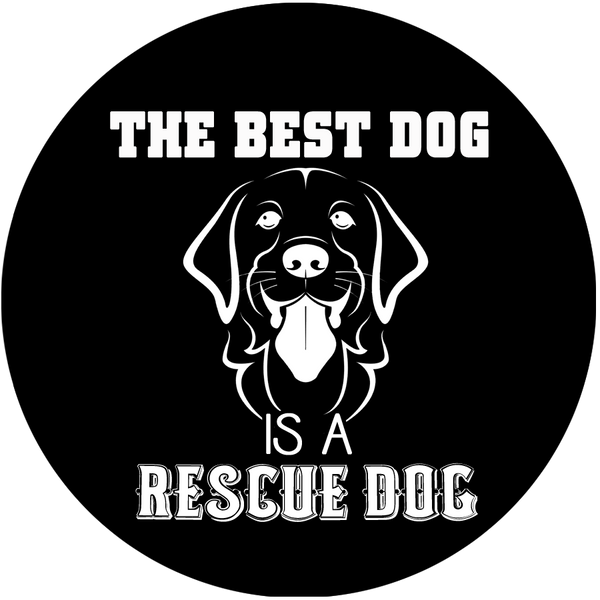 The best dog is a rescue dog - Dogs Make Me Happy