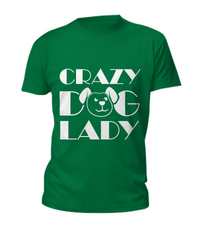 Crazy dog lady - tank + tee - Dogs Make Me Happy - 6
