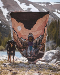 The Mountain Life Blanket