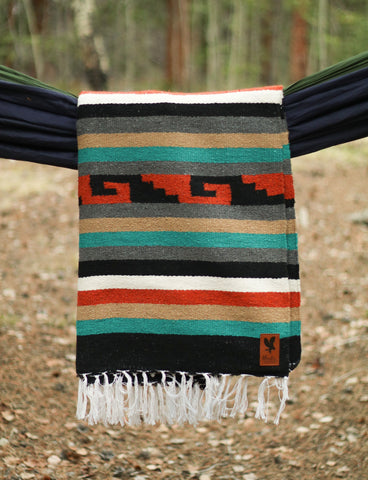 Adventure Diamond Aztec Blanket - Summit