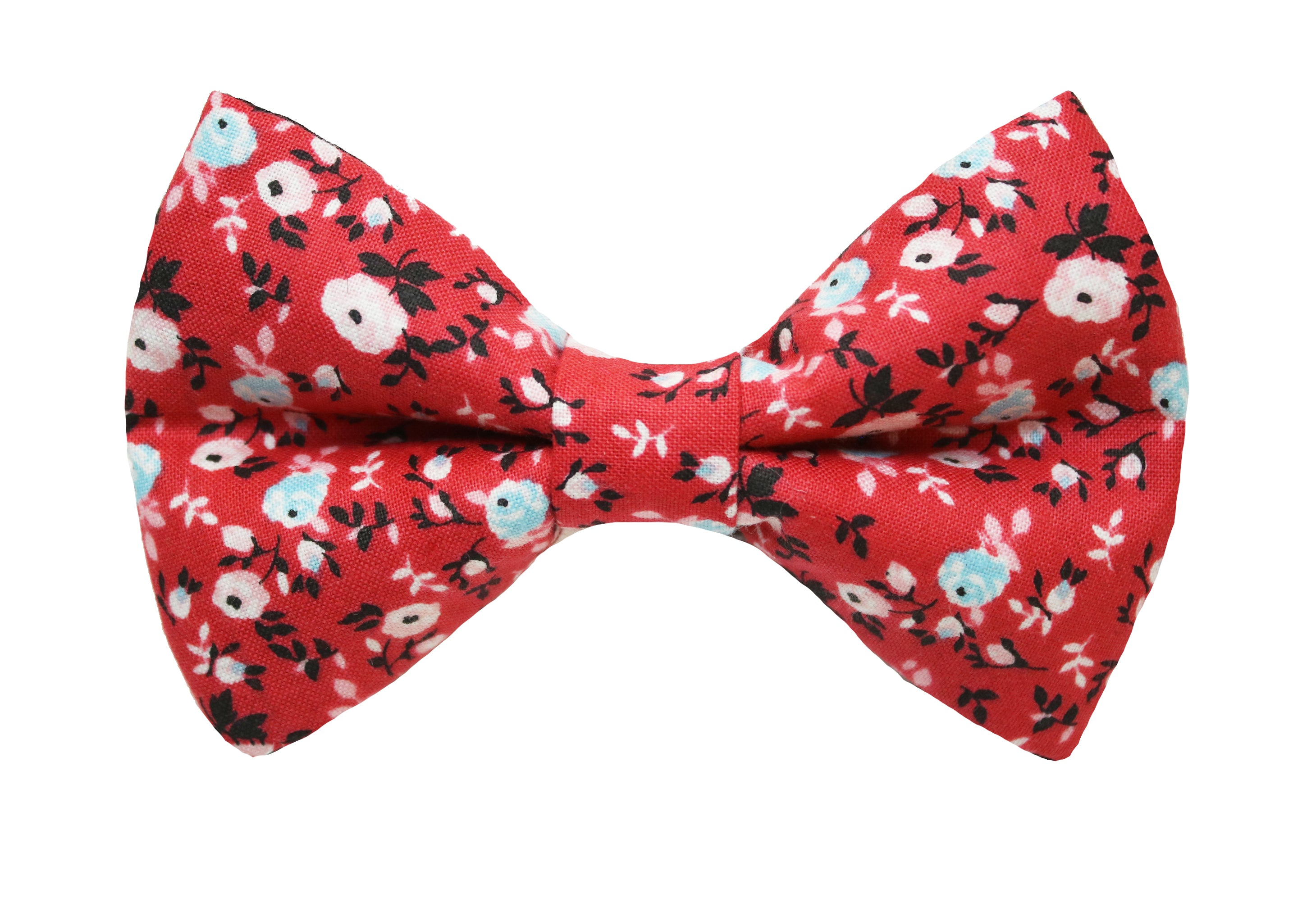 Peony Floral Bow Tie