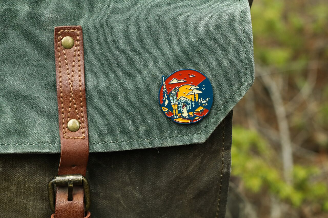 Colorado C Enamel Pin