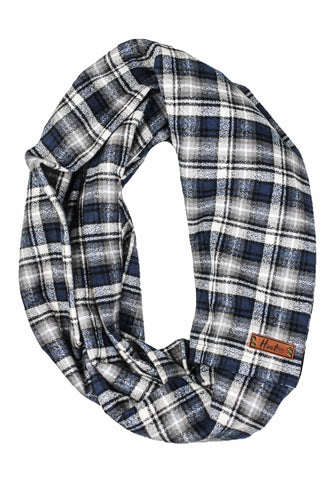 Elliot Flannel Infinity Scarf