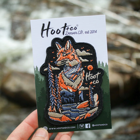 Fox River Enamel Pin