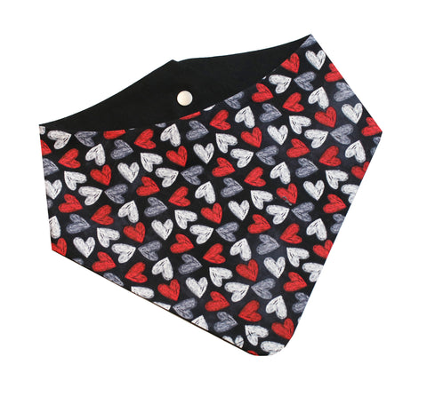 Scattered Hearts Bandana