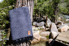 Adventure Blanket Solid - DARK GRAY