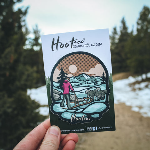 Horseshoe Bend Sticker
