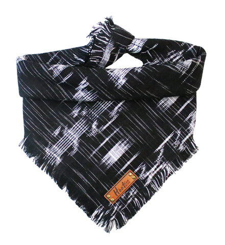 Antero Ikat Frayed Dog Bandana