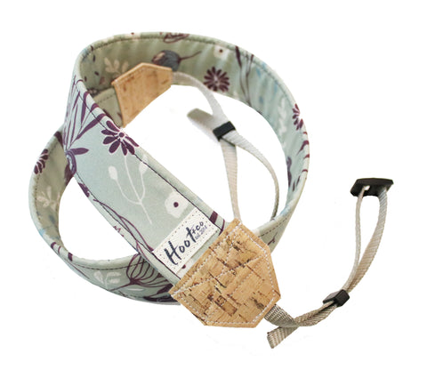 Mulberry Mint Camera Strap