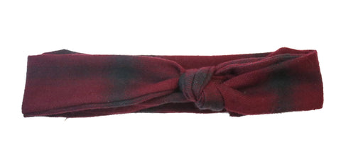 Reine Flannel Headband