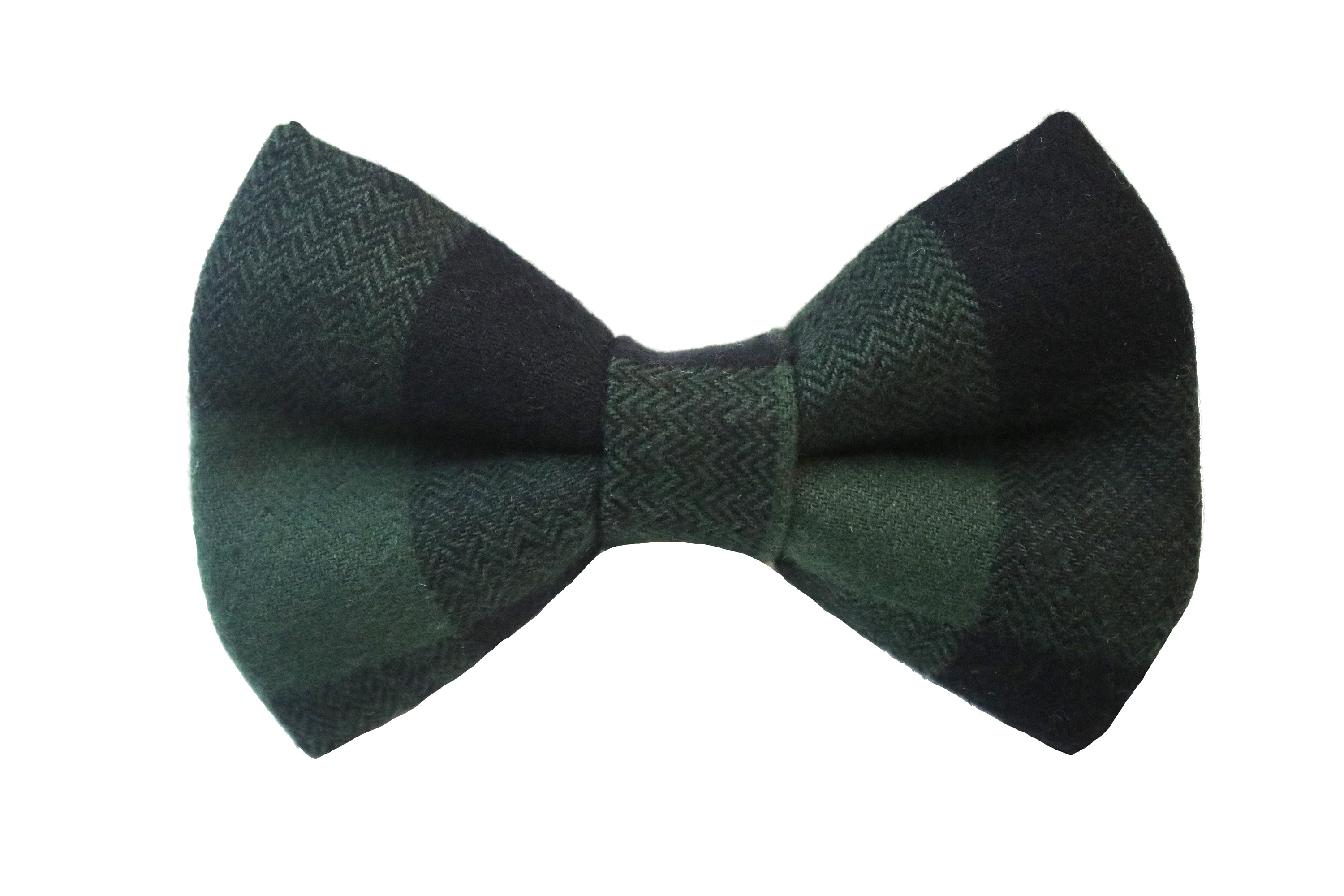 Clove Flannel Bow Tie