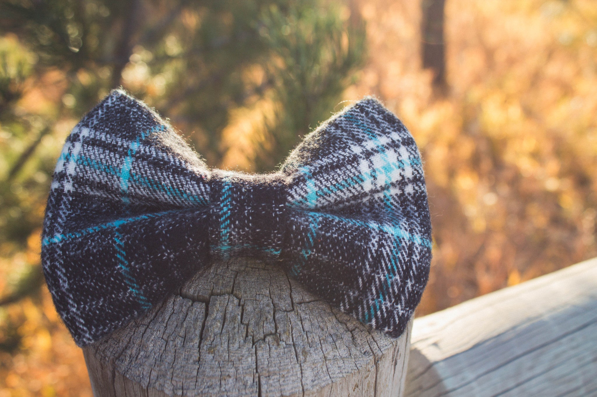 Oliver Flannel Bow Tie