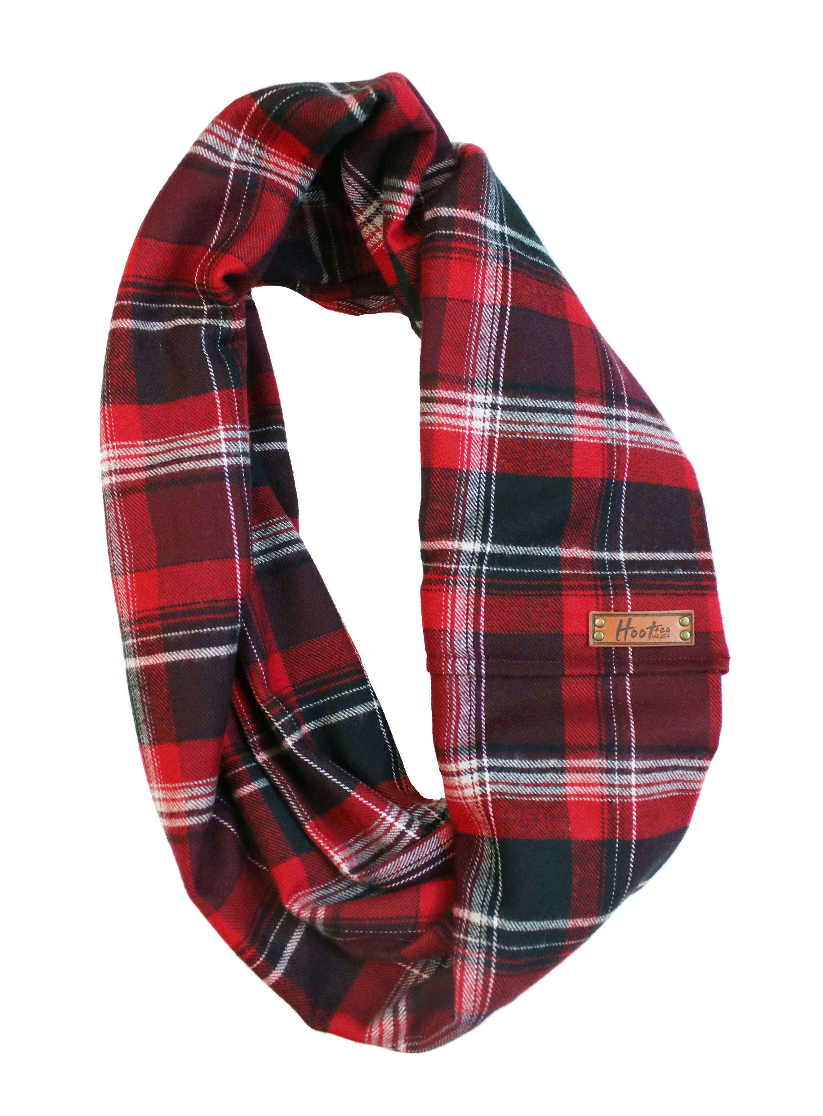 Harper Flannel Infinity Scarf