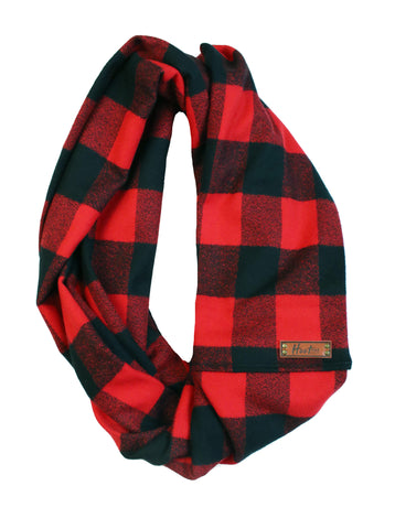 Finley Flannel Infinity Scarf