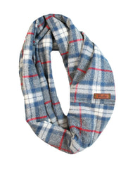 Acadia Flannel Infinity Scarf