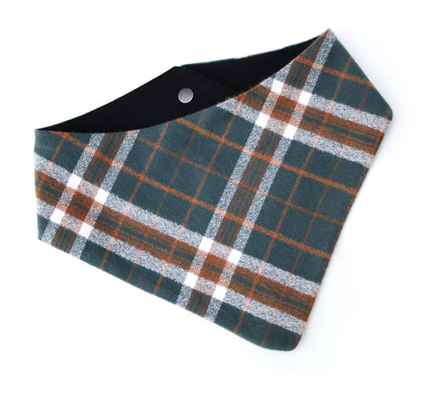 Evergreen Flannel Bandana