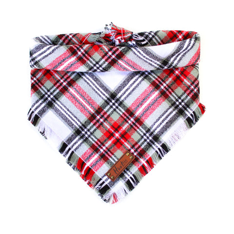 Heath Flannel Infinity Scarf