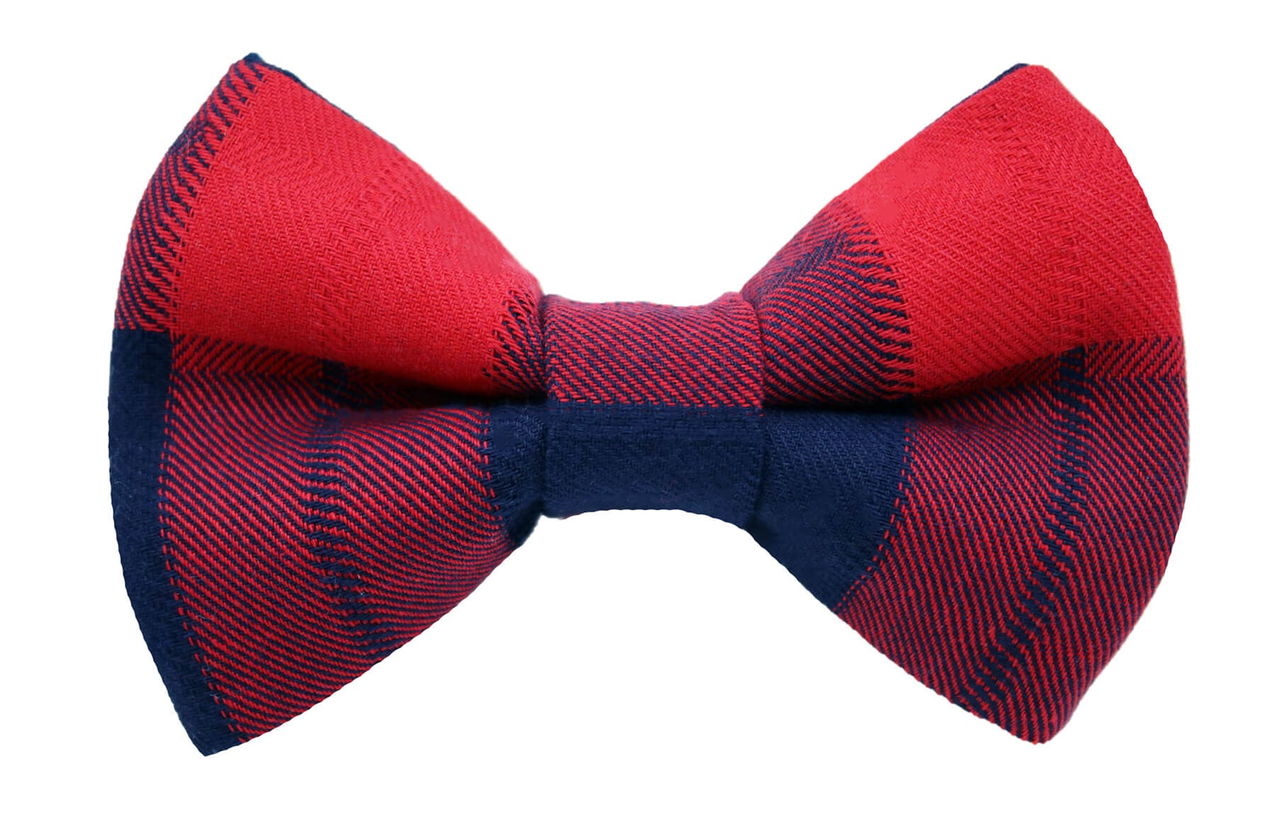 Kennedy Plaid Bow Tie