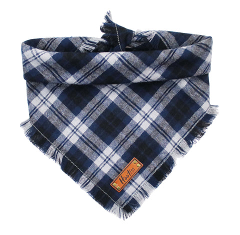 Mulberry Frayed Bandana