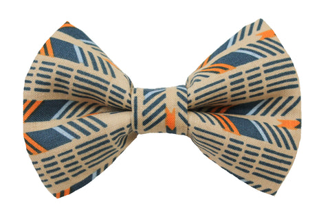 Arrow Slate Bow Tie