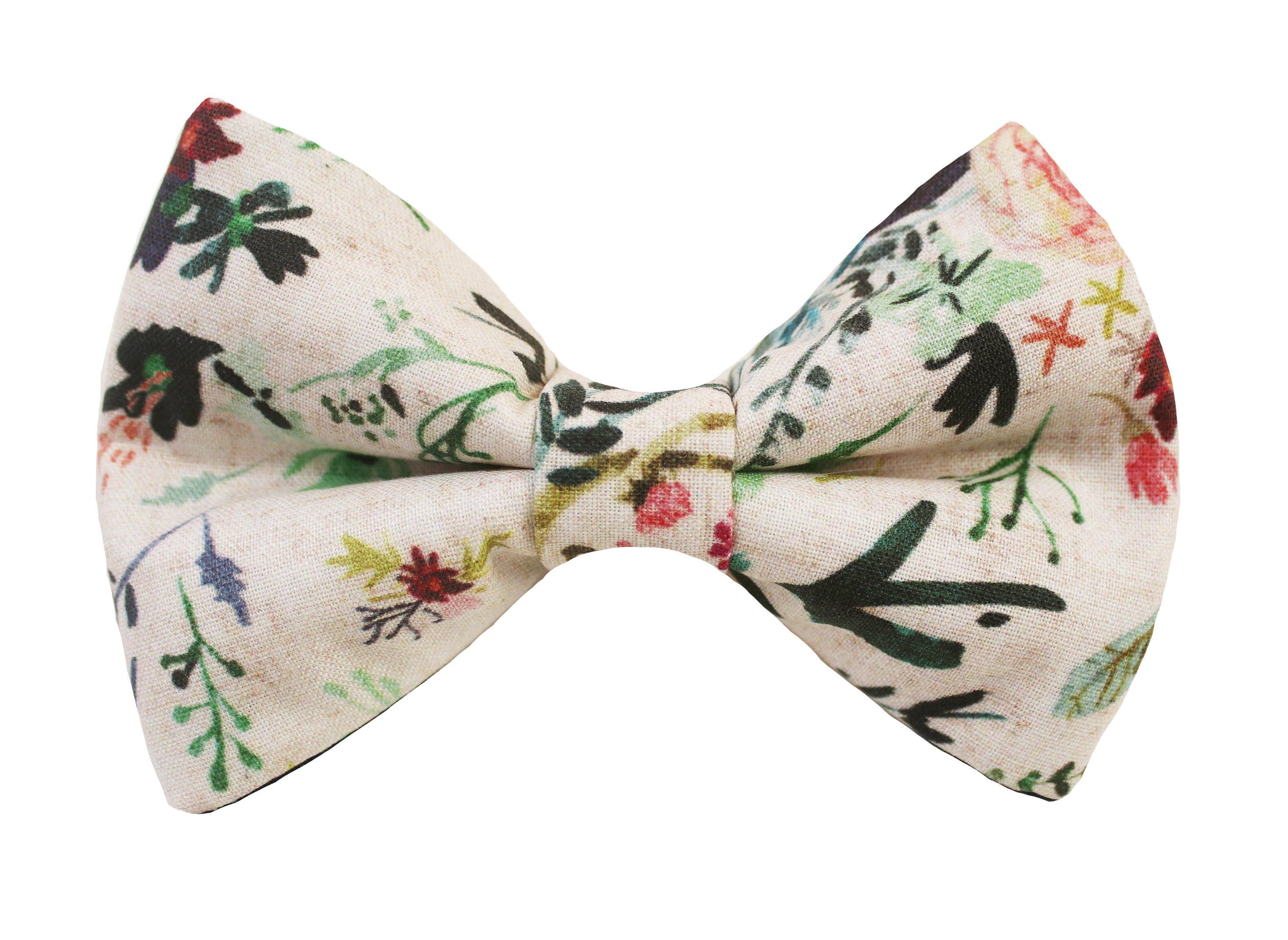 Fable Floral Blush Bow Tie