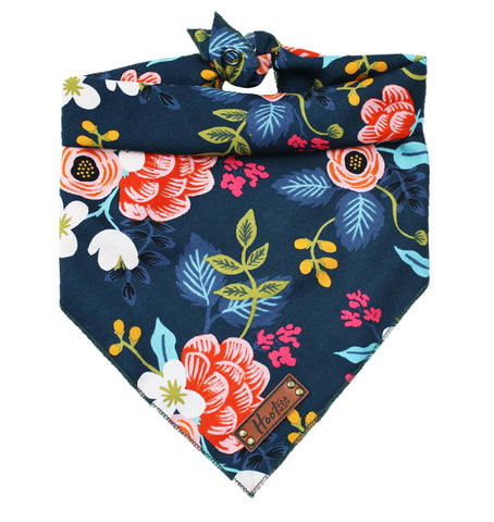 Bloom Mint Floral Bandana