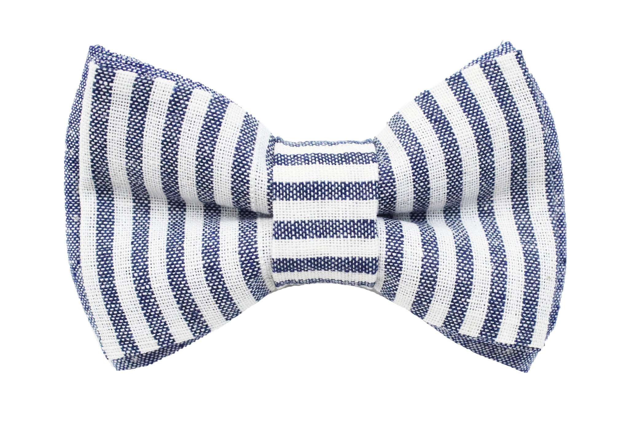 Lane Linen Navy Bow Tie