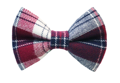 Averi Flannel Bow Tie
