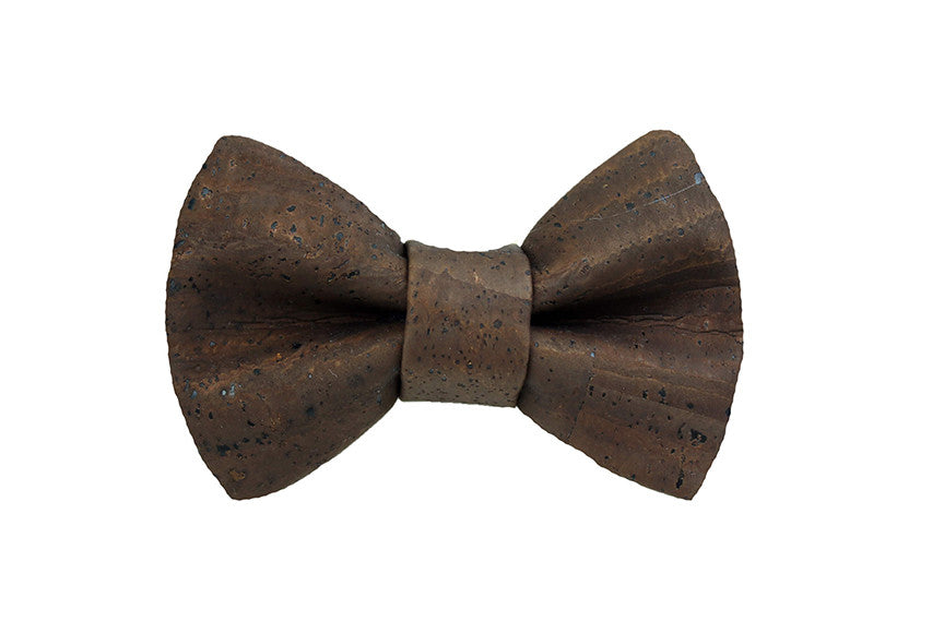 Cork - Brown Bow Tie
