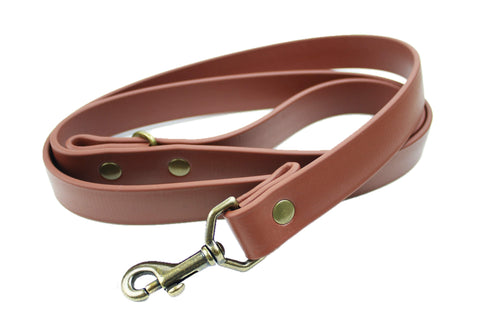 Jett Vegan Leash - Antique Brass