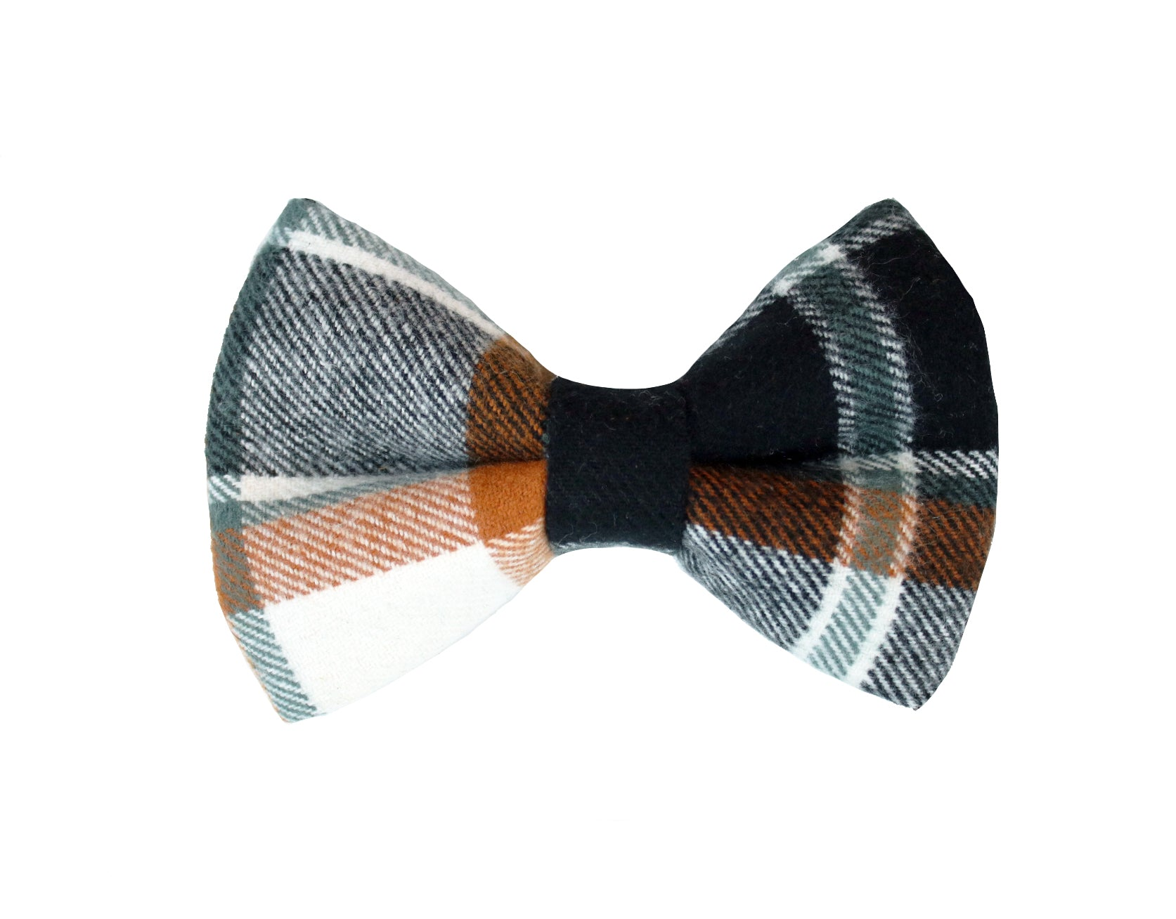 Cedarwood Flannel Bow Tie