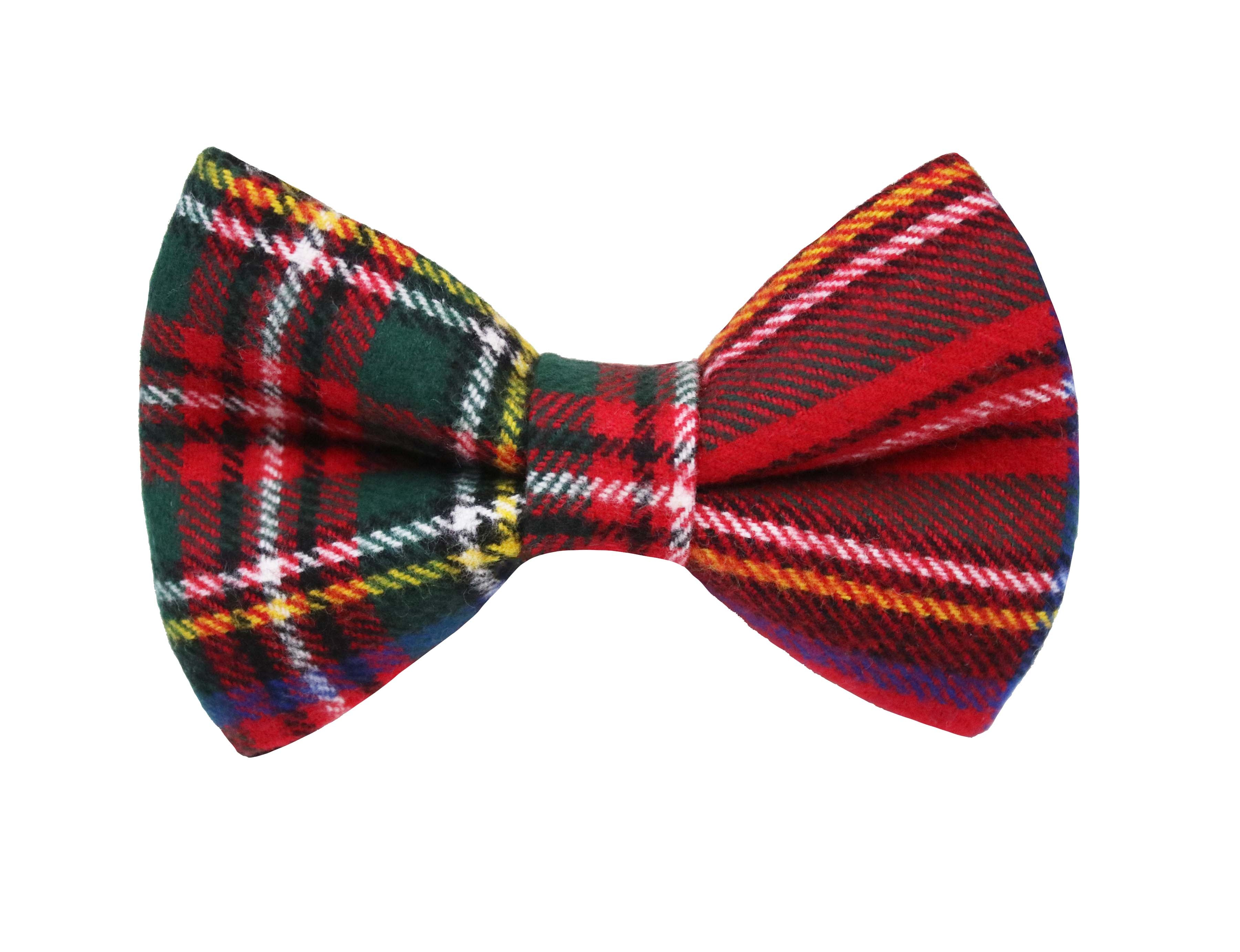 Classic Red Flannel Bow Tie