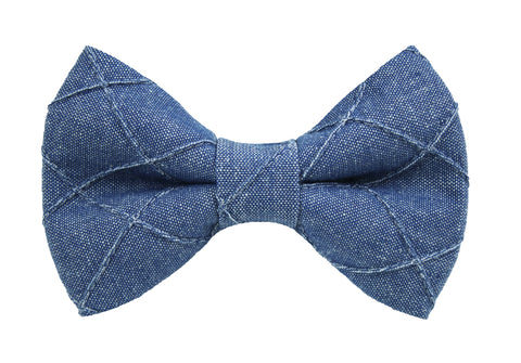 Kennedy Denim Bow Tie