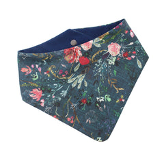 Fable Floral Navy Bandana