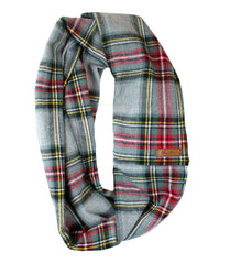 Storm Flannel Infinity Scarf