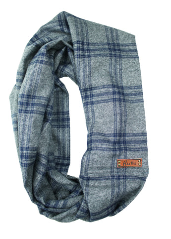 Hudson Flannel Infinity Scarf