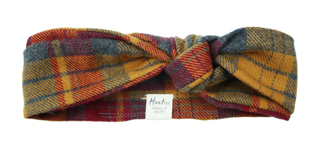 Hunter Flannel Headband