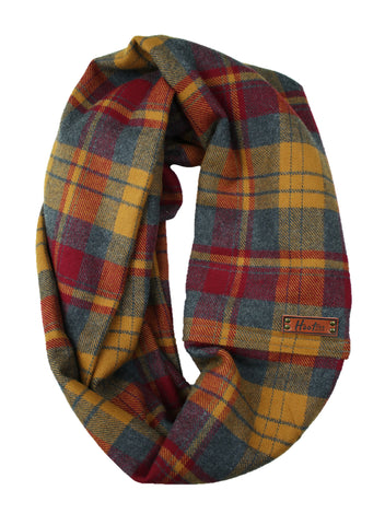 Hunter Flannel Infinity Scarf