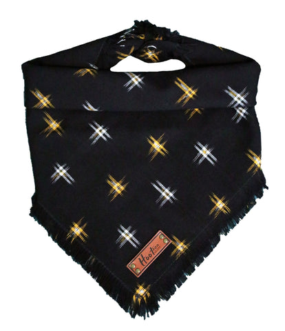Halloween Ikat Frayed Bandana - LIMITED EDITION