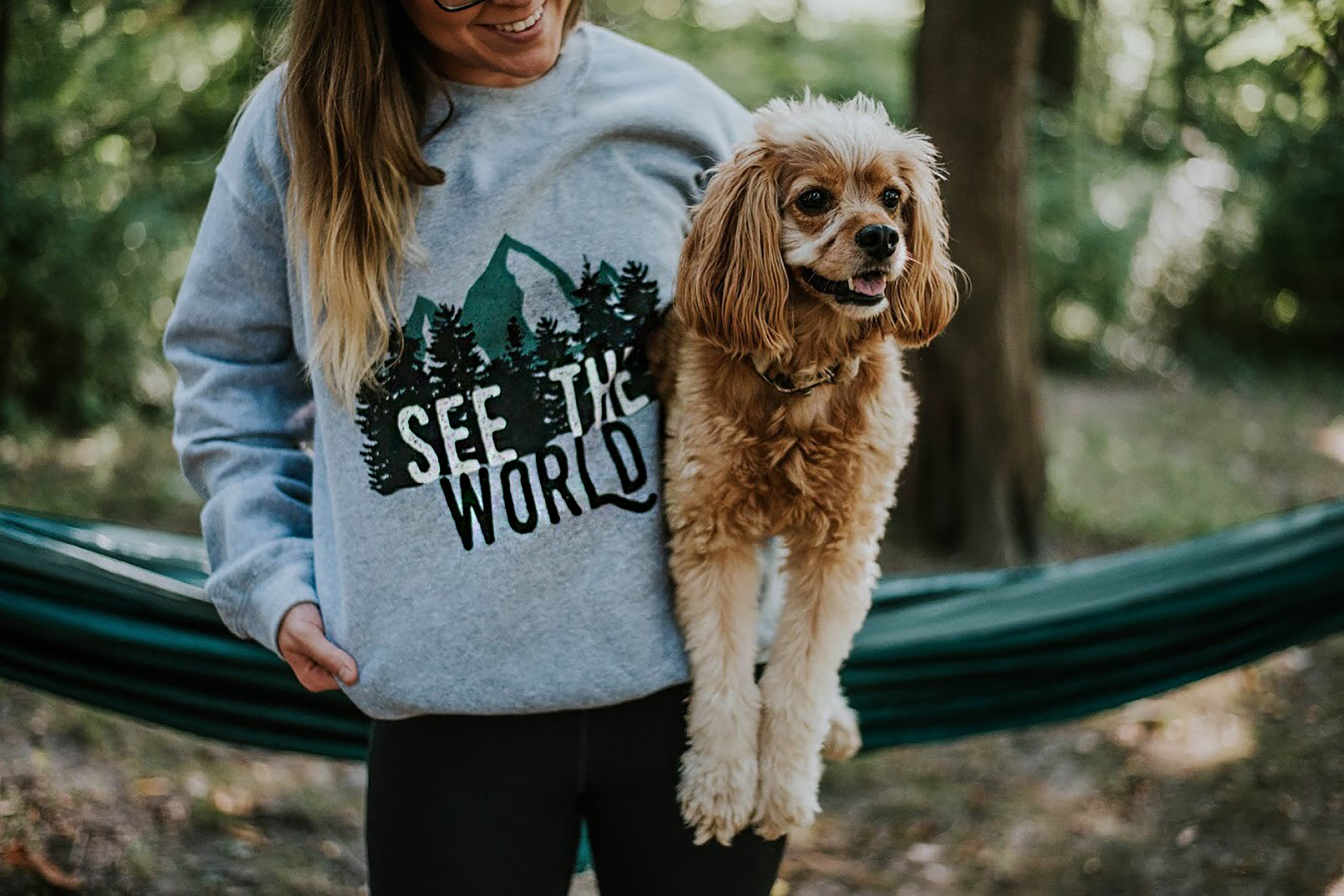 See The World Hoodless Sweatshirt