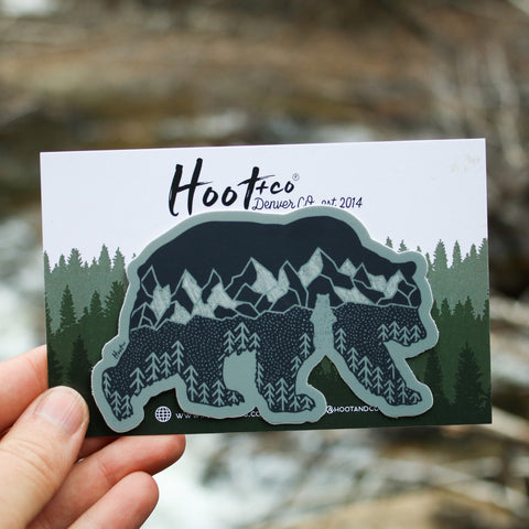 Bear Mountain Sticker