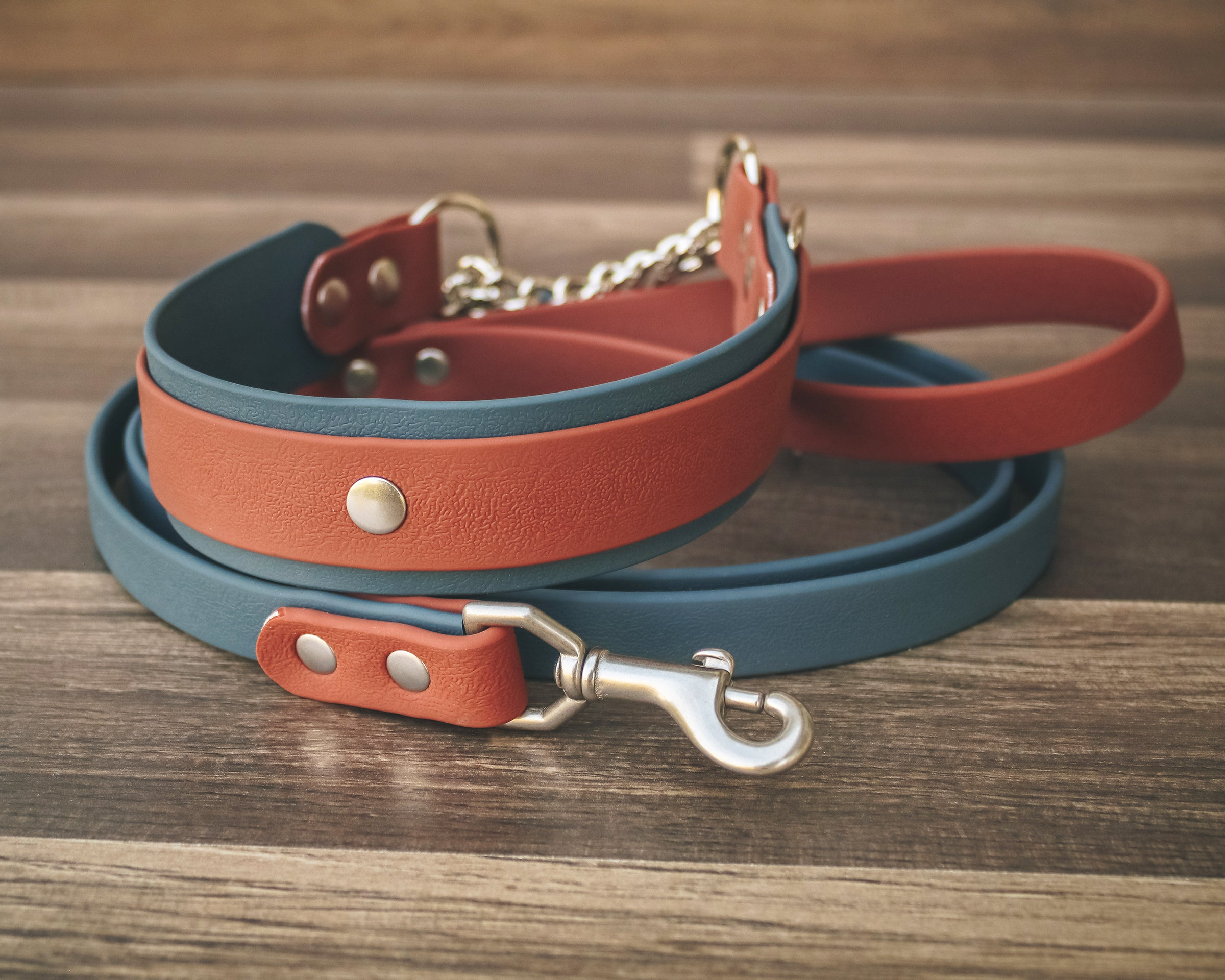 "Two Tone Martingale 1.5"" - All Color Combos"