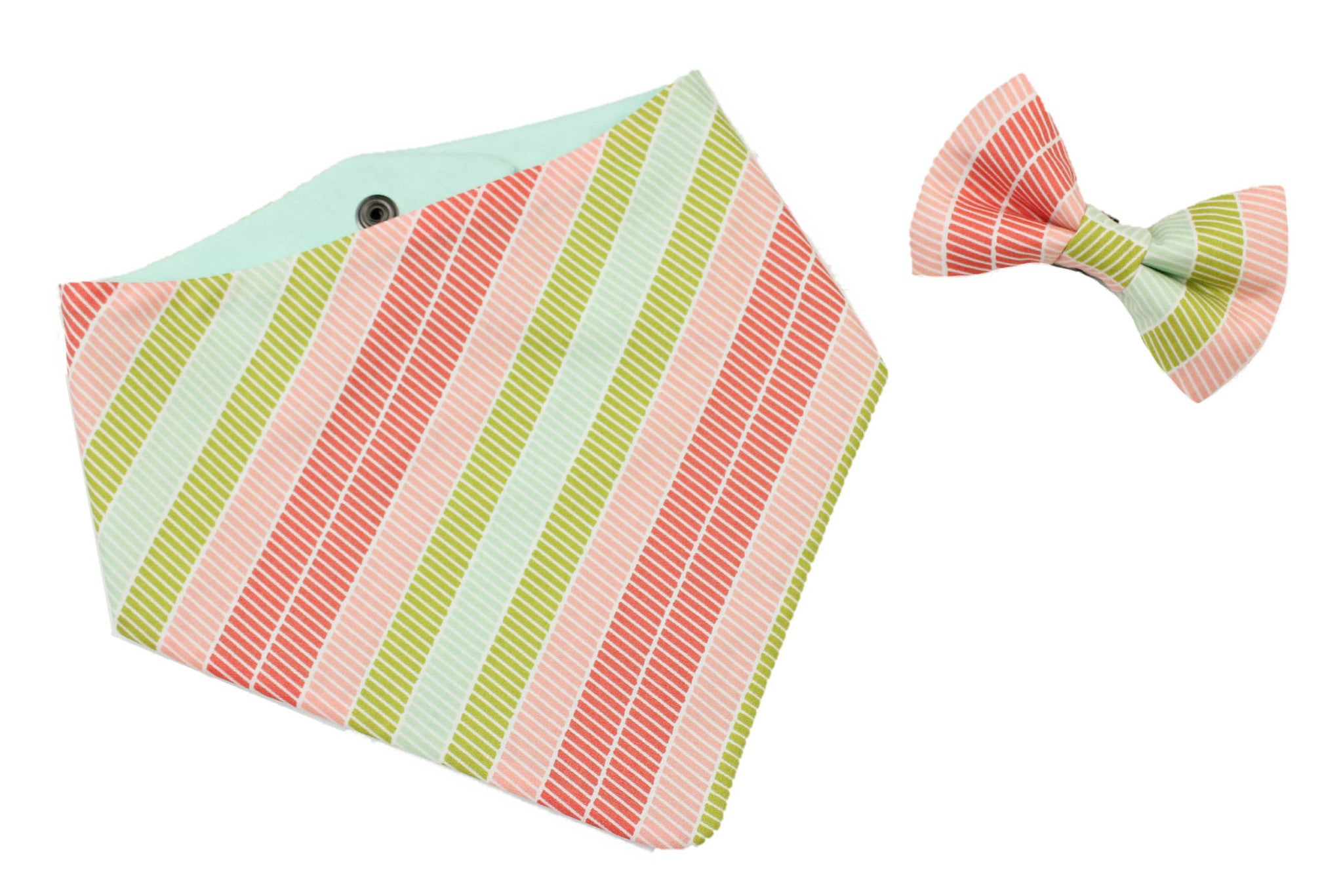 Sherbet Stripes Bow Tie
