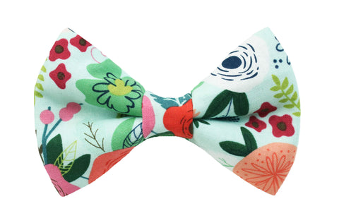 Bloom Mint Bow Tie