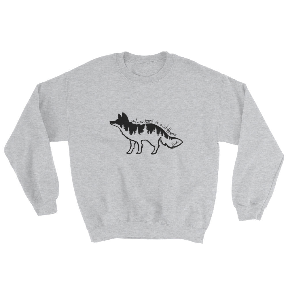 Forest Fox Hoodless Sweatshirt