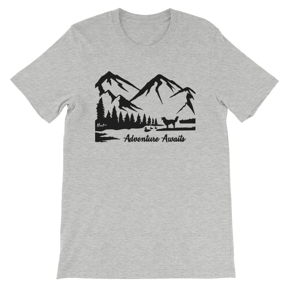 Adventure Awaits Scenic Unisex T-Shirt
