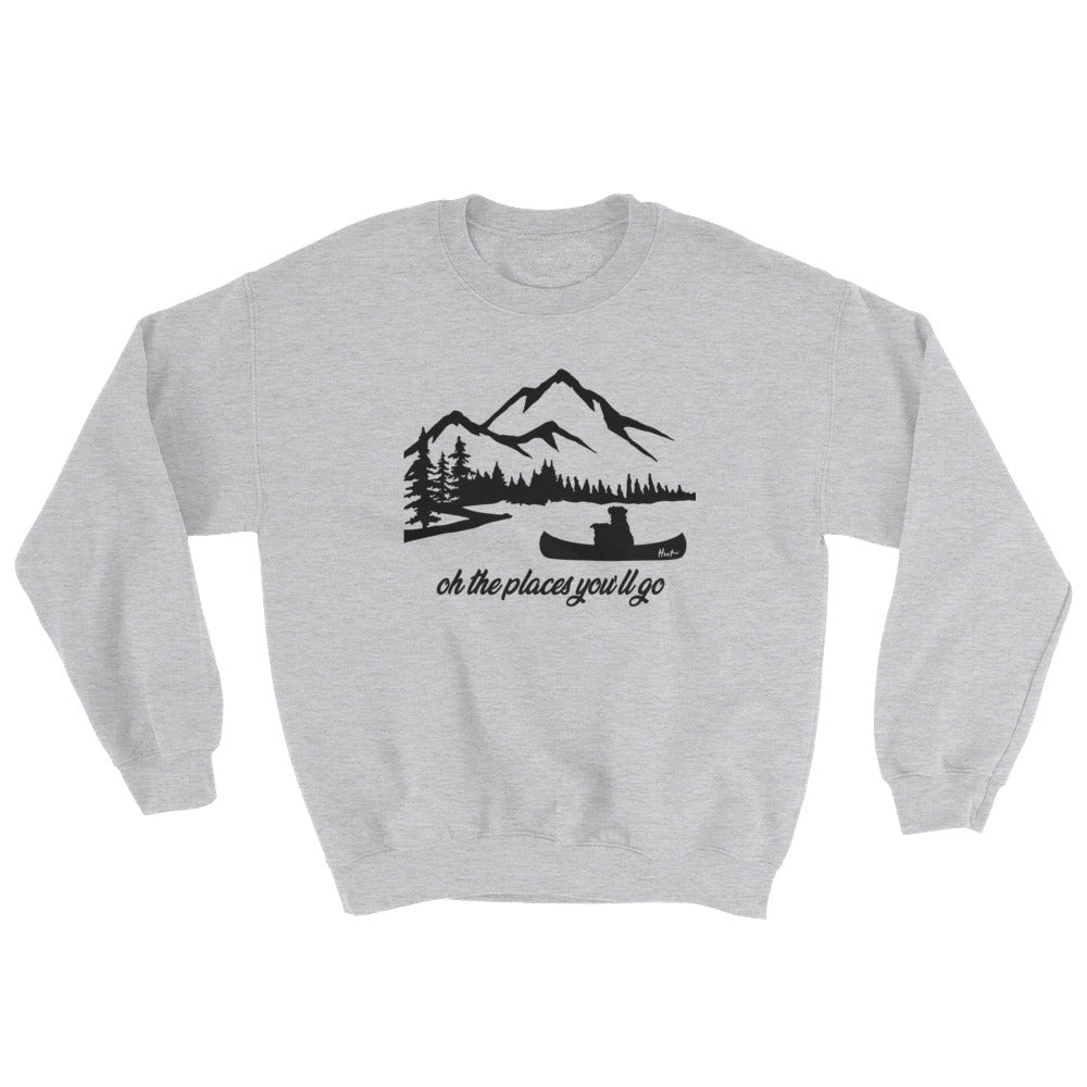 Oh the Places You'll Go Hoodless Sweatshirt